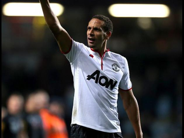 Ferdinand relaxed about his status at United