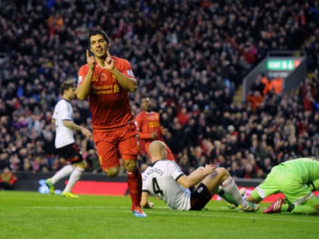 Luis Suarez pips Aaron Ramsey and Wayne Rooney to November PFA crown
