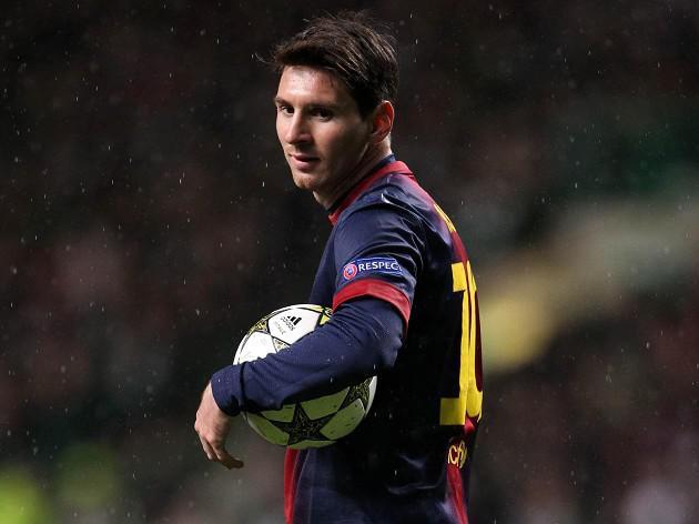 Muller lauds Barcelona's record-breaker Lionel Messi