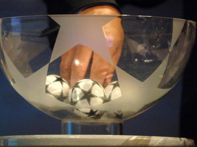 Champions League Play-Off Draw: LIVE