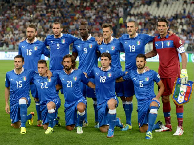 World Cup 2014 - 41 days to go: Teams - Italy