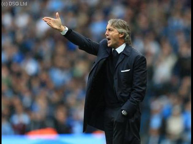 Roberto Mancini defends Manchester City's zonal marking