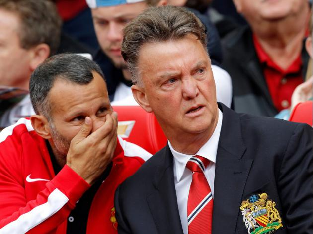 'Bad day' for Van Gaal