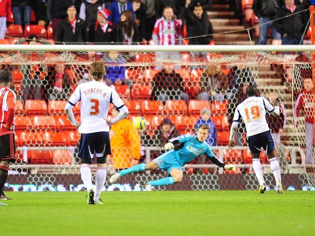 Sordell brace sends Sunderland out