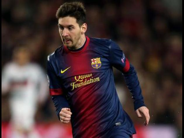 Lionel Messi factfile