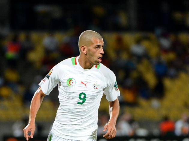 Slimani sends Algeria through