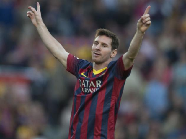 Messi targeting Madrid after gunning down Osasuna