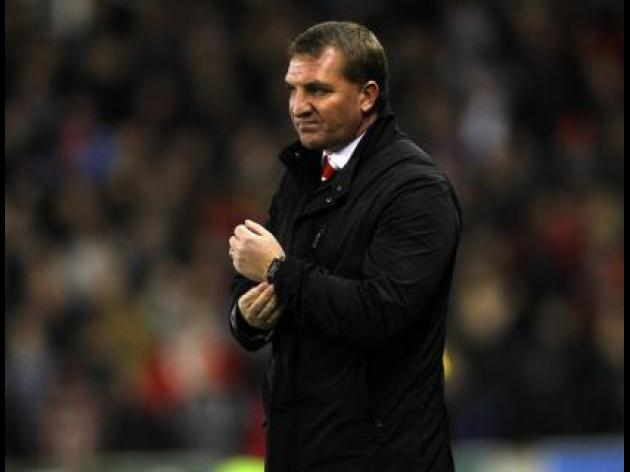 Liverpool boss Brendan Rodgers says, 'We have a fighting chance'