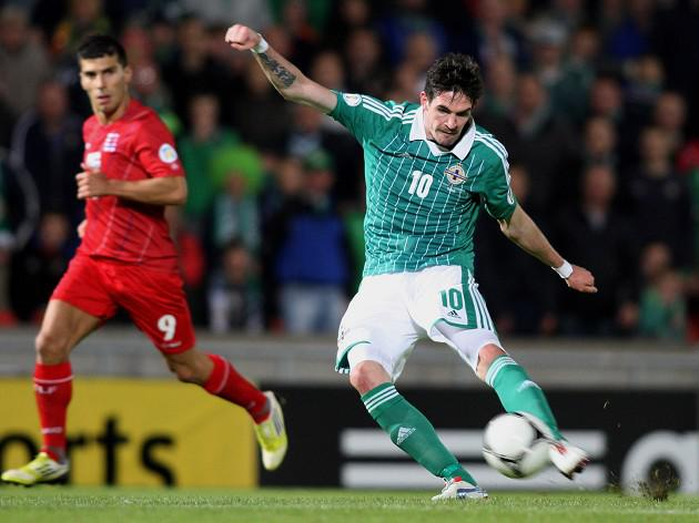 Lafferty returns for Russia clash