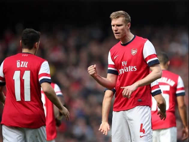 Mertesacker back Ozil to shine