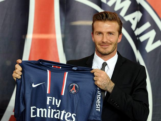 Beckham prepares for Ligue 1 debut after training with PSG