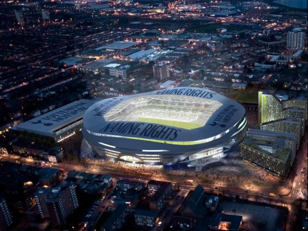 Tottenham's new look stadium will cause havoc