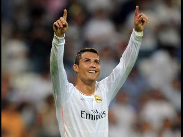 Ronaldo winner keeps Madrid on track in Malaga
