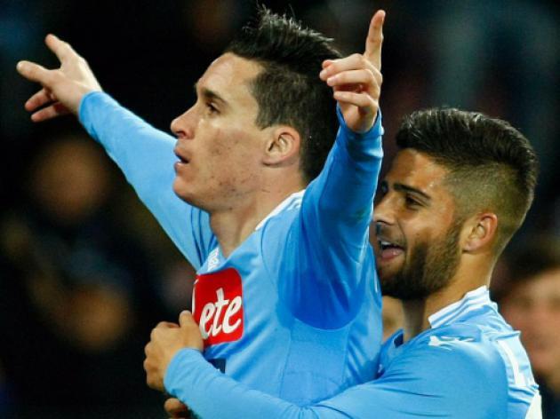 Callejon's late winner puts brakes on Roma's title bid