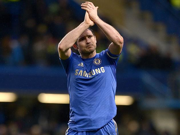 Frank Lampard delighted by landmark Chelsea goal