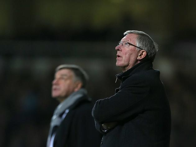 West Ham boss Sam Allardyce believes Sir Alex Ferguson is the master