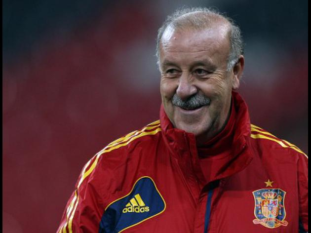 Del Bosque delight at progress