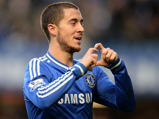 Hazard strike sees Chelsea home