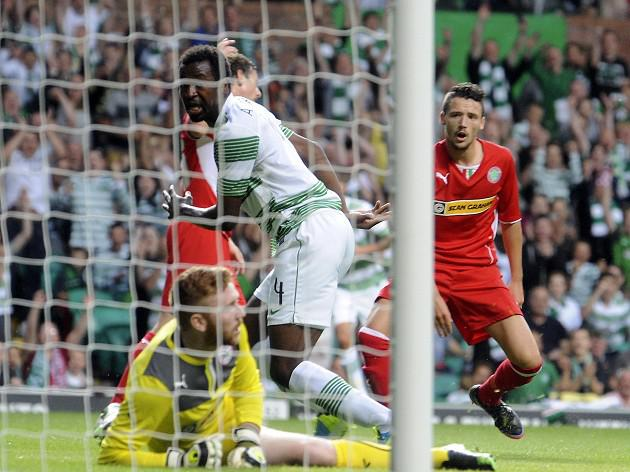 Celtic ease past Cliftonville