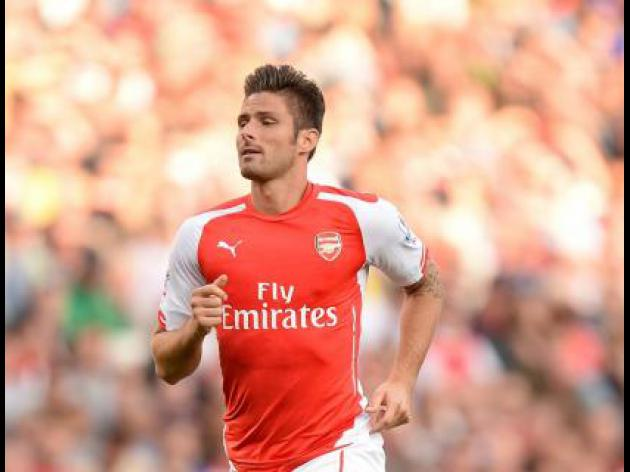 Giroud out for rest of the year