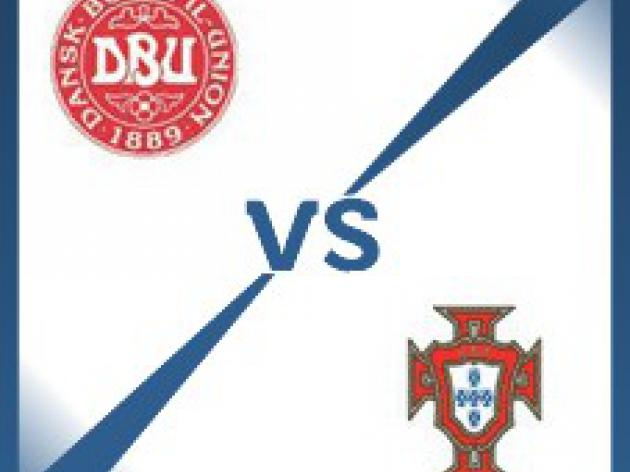Denmark V Portugal - Follow LIVE text commentary