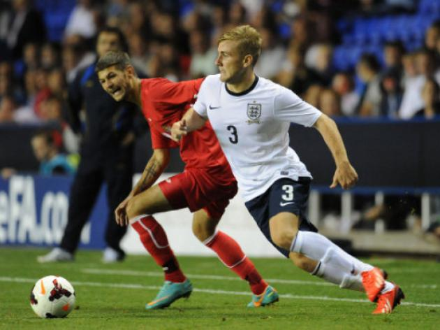 Saints left-back Luke Shaw welcomes strong England competiton