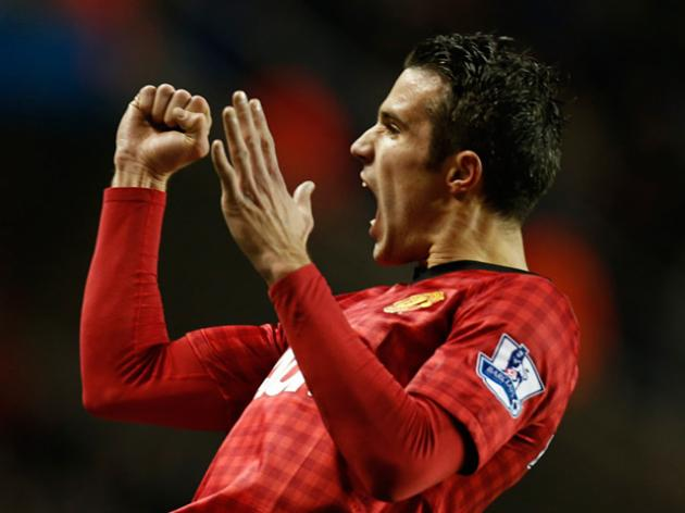 Real Madrid V Manchester United: Ronaldo V van Persie