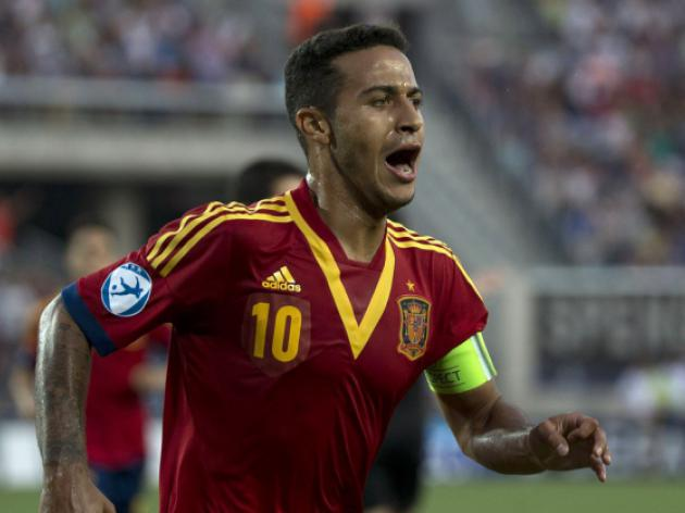 Manchester United to step up bid for Thiago Alcantara after Euro U21 Final heroics