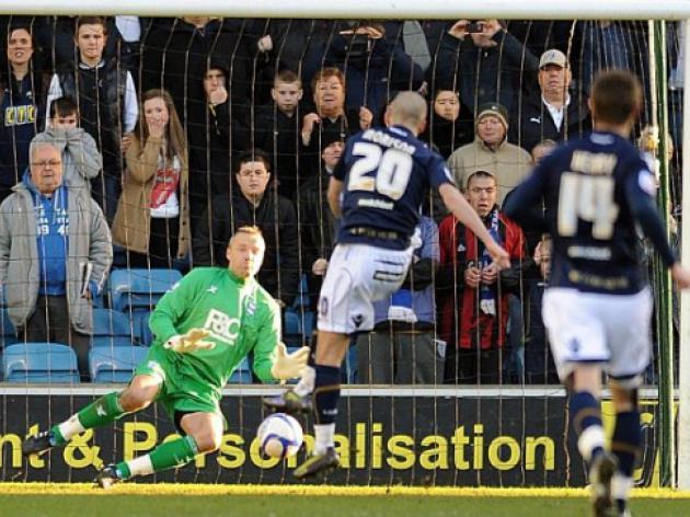Millwall 1 Birmingham City 4: Derbyshire double tames Lions