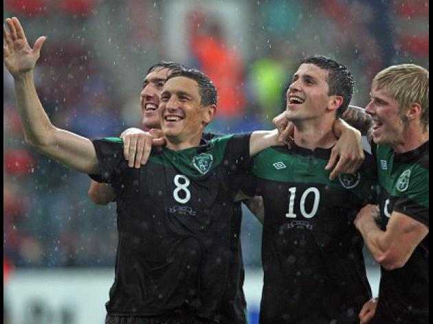 Republic of Ireland 2-0 Italy: Match Report