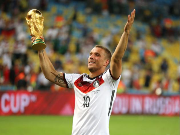 Germanys Podolski to bow out after Euro 2016