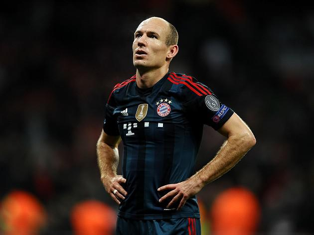 Robben hits back at Wenger