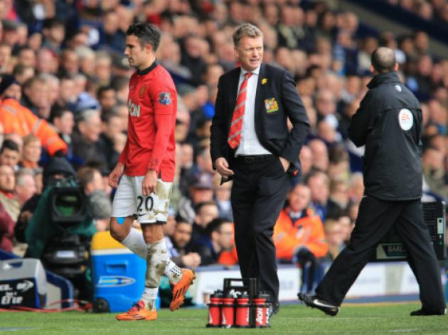 Thanks for Stopping By; Manchester United's Robin van Persie Looks to be on the Move