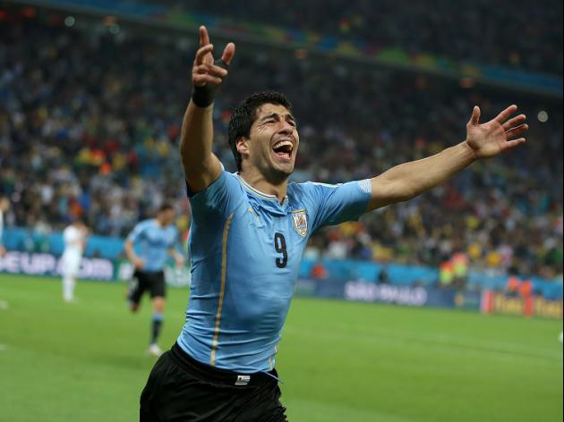 Suarez bite storm as Uruguay sink Italy