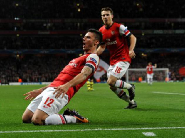 Arsenal v Borussia Dortmund: Champions League Match Report