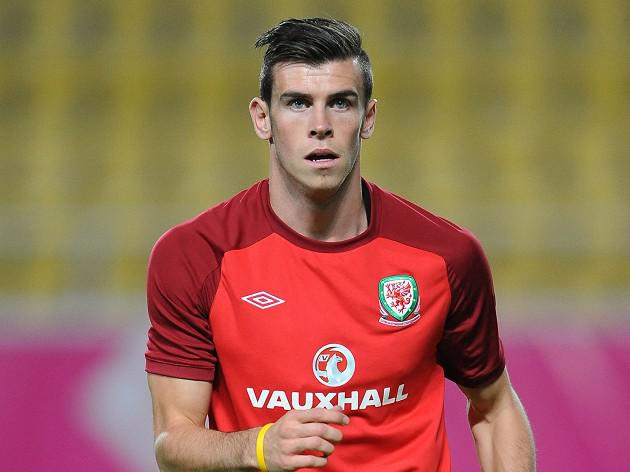 Bale on Wales bench