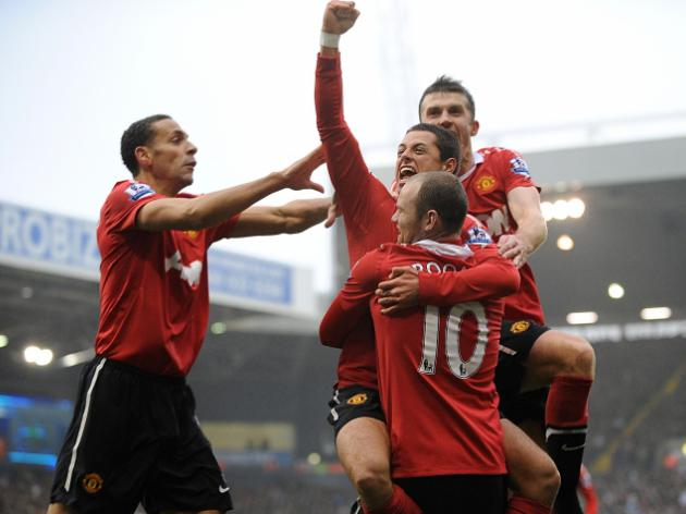West Bromwich Albion 1-2 Manchester United: Report