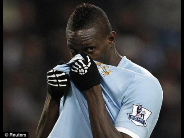 Mario Balotelli may miss derby against Manchester United