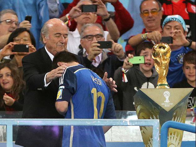 Blatter 'surprised' by Messi award