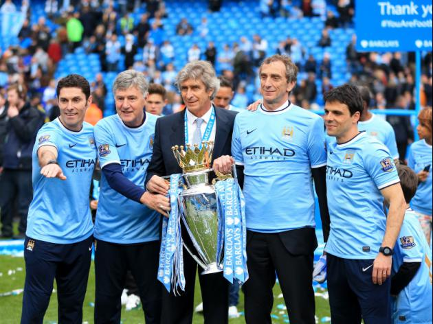 Manchester City are Manuel 'Pelle-grinning' all the way