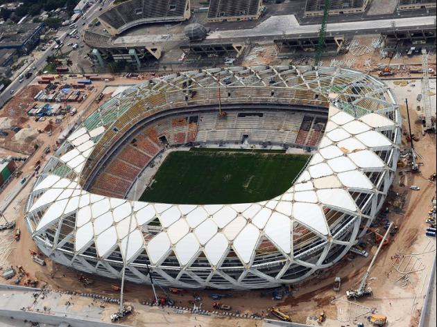 England to inspect Manaus pitch