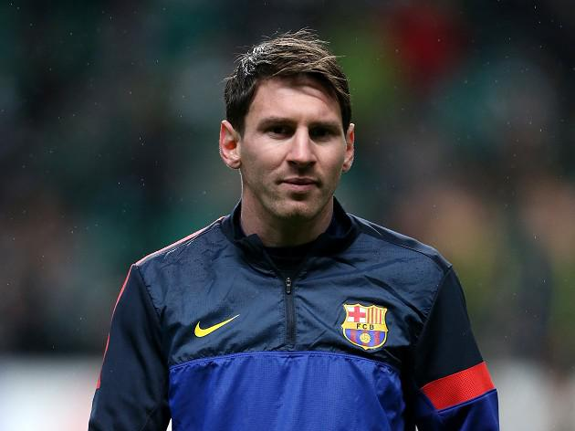 Messi returns to Barcelona training