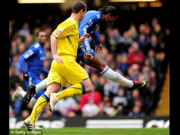 Chelsea 4 Cardiff 1: Tough on City as Drogba tweaks the dragon's tail