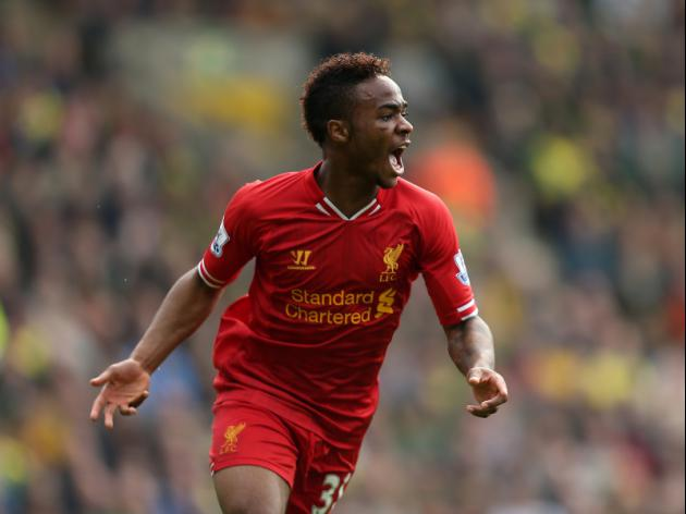 Raheem Sterling, soon to be a Liverpool legend