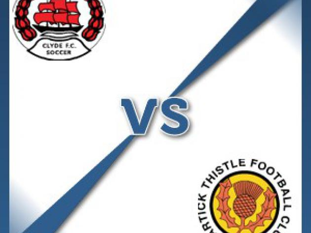 Partick Thistle away at Clyde - Follow LIVE text commentary