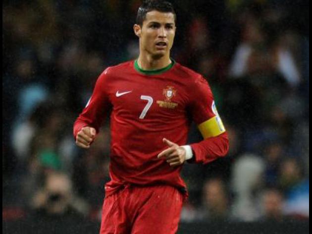 Ronaldo struggling for fitness