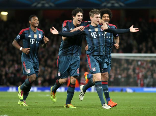 Bayern Munich back to full-strength as they tune up for Arsenal