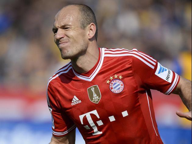 Real will feel Bayerns heat, says Robben