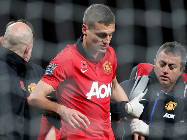 Vidic discharged from hospital