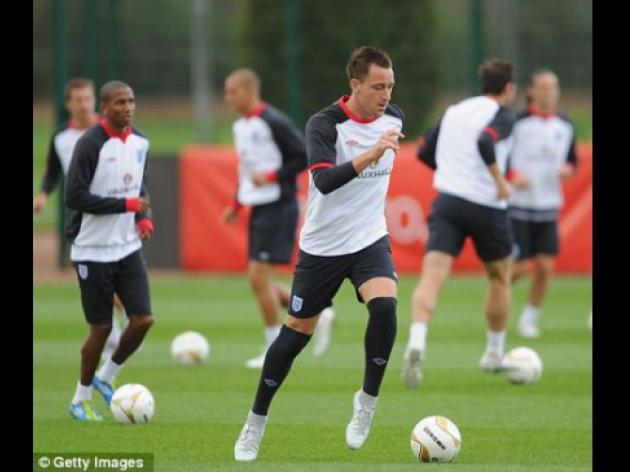 Terry targets Euro 2012 success to make up for England failures